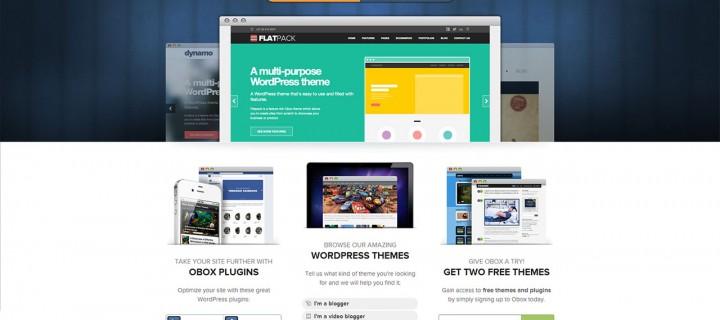 Obox: Thèmes WordPress et Plugins Originaux.