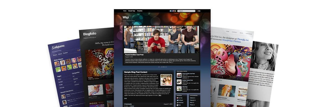 Themify : Des Thèmes WordPress Professionnels et Hautement Customisables