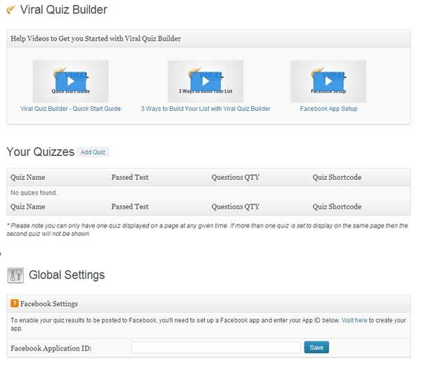 L'utilisation de Viral Quiz Builder est très intuitive. Laissez-vous guider!